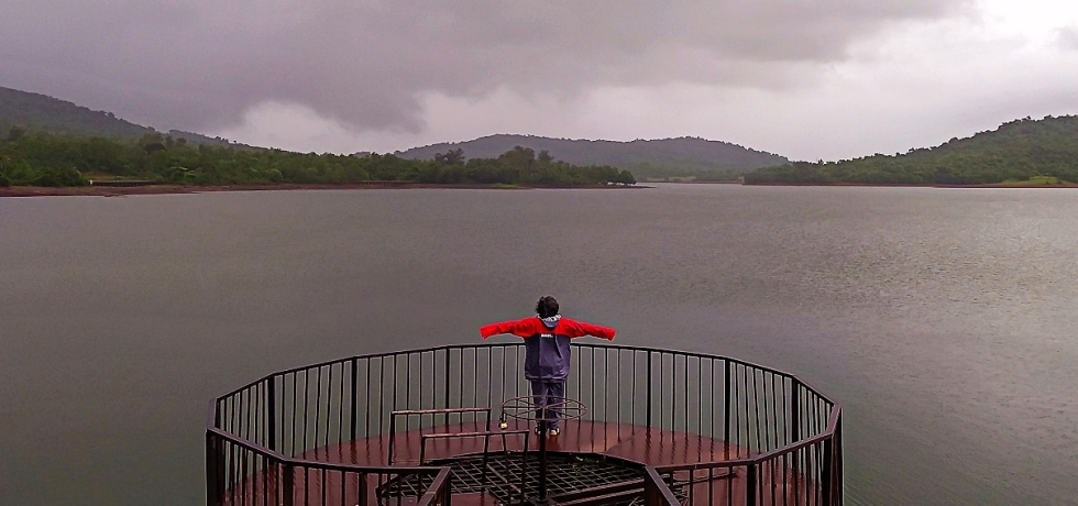 Amthane Dam & Reservoir, Goa, India