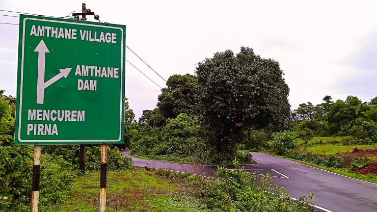 Amthane Dam & Reservoir, Goa, India