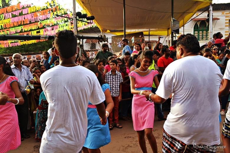 Bonderam Festival, Divar Island Goa India