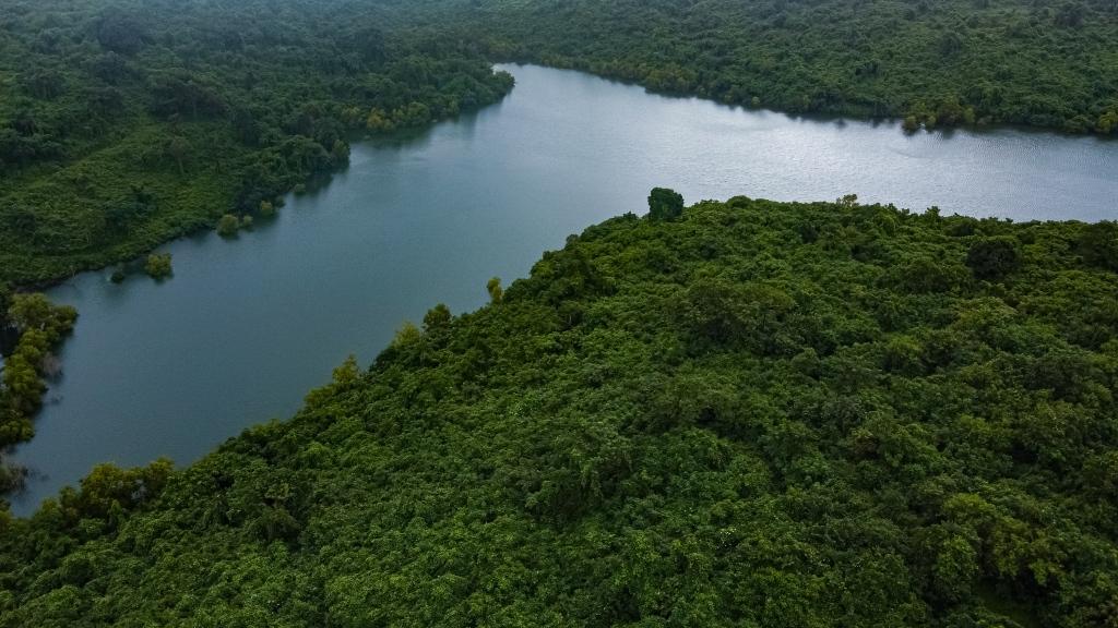 Bondvol Lake in 2020